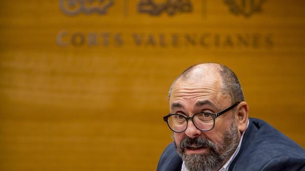 Imagen de archivo de Enric Nomdedéu tomada en las Cortes Valencianas