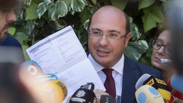 Pedro Antonio Sánchez, expresidente de Murcia, en una imagen de archivo