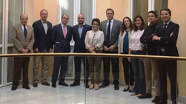 Imagen del jurado del Premio Joven Empresario de Valencia 2017
