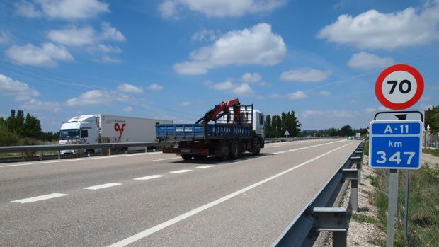 Imagen de archivo de la Autovía A11
