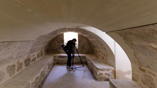 Estado actual de la cripta tras su restauración