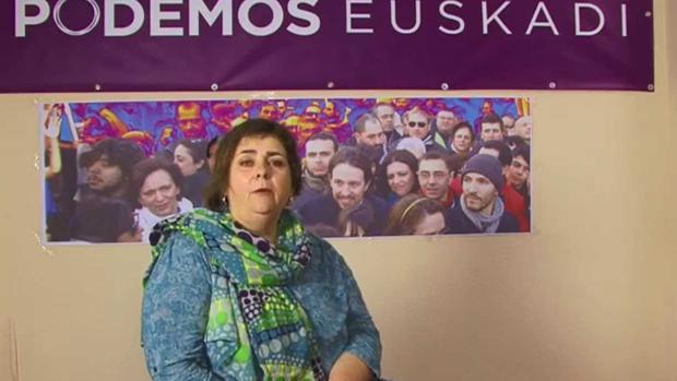 La exjuntera de Podemos Álava Mari Cruz Polaina