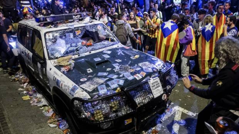 Teniente de la Guardia Civil: «Jordi Sànchez llamó a Trapero y me pasó el teléfono, pero me negué»