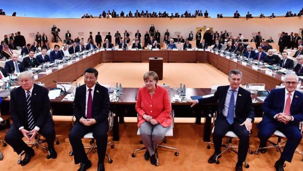 Imagen de la última cumbre del G20