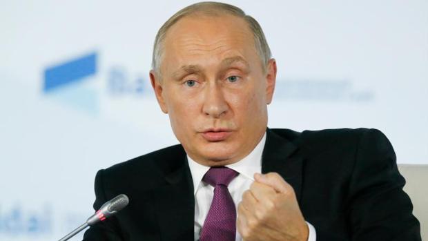 Putin, en su conferencia de hoy en Sochi