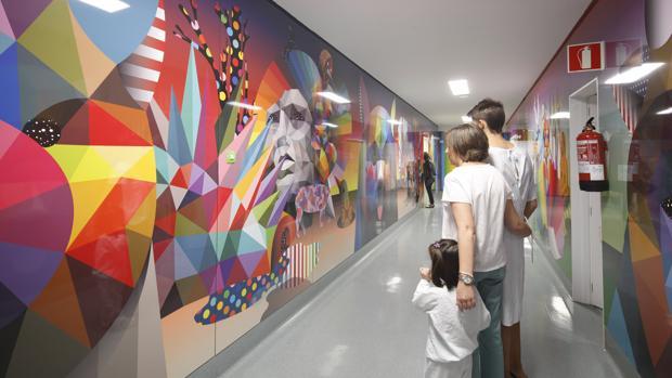 El Arte Urbano Llega A Pediatr A Del Hospital Cl Nico San