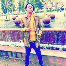 El «trinitario» Rafael Yosias Roig Soto, de 21 años, en el Parque Calero