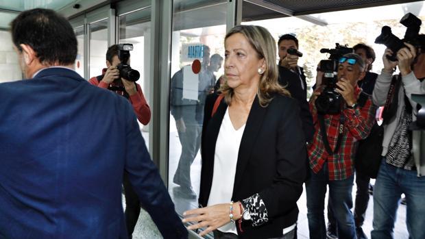 La tesorera del pp nacional acude a declarar como imputada - Carmen navarro en sevilla ...