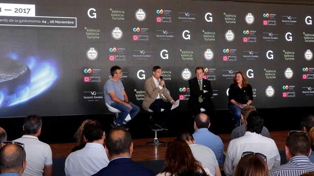 Imagen de la presentación de la feria Gastrónoma 2017