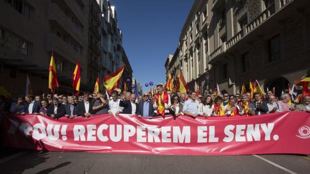 """SCC llenó las calles en favor del """"seny"""" y la unidad el pasado 8 de octubre"""