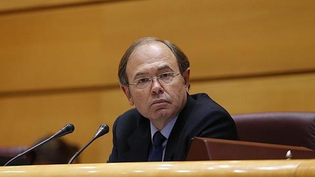 Pío García-Escudero, en el Senado