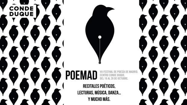 Cartel de la VII edición de PoeMaD