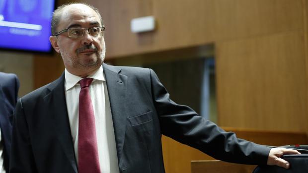 Javier Lambán (PSOE), presidente del Gobierno aragonés