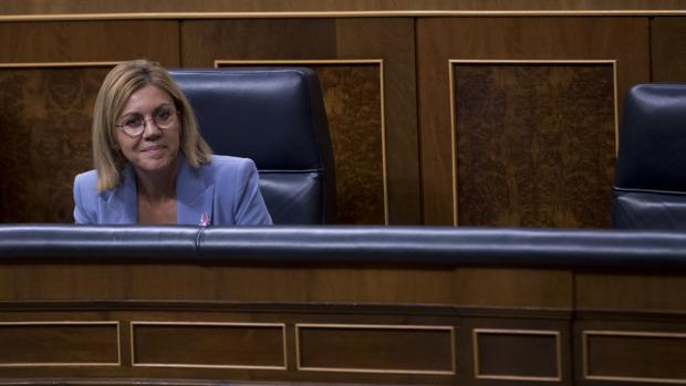 María Dolores de Cospedal, en el Congreso