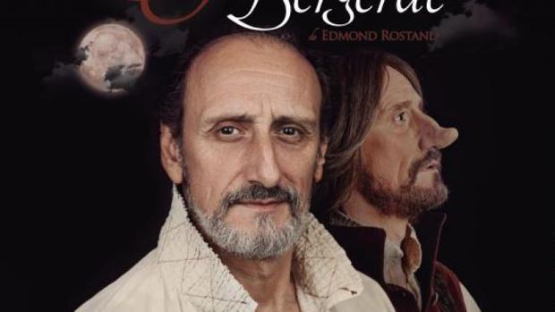 José Luis Gil encarna a Cyrano de Bergerac, un montaje que llega este fin de semana al Rojas