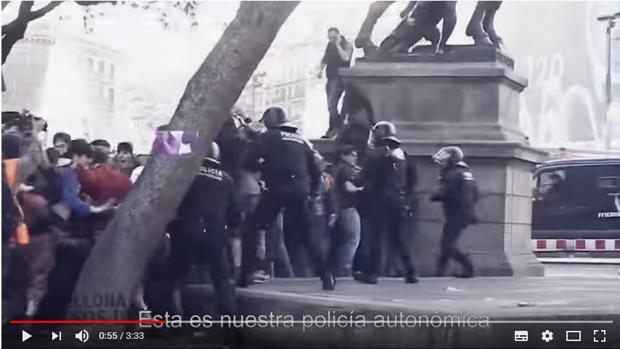 Imagen del vídeo de Sociedad Civil Catalana