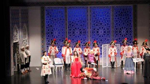 Imagen de la ópera «El Barbero de Sevilla»