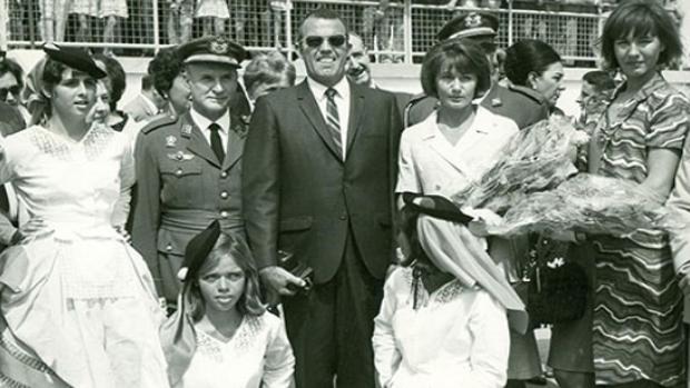 20.000 canarios recibieron a astronautas norteamericanos a Gran Canaria en 1965