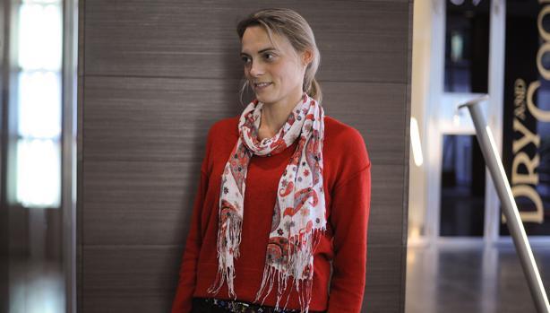 La presidenta del PP de Vizcaya, Raquel González