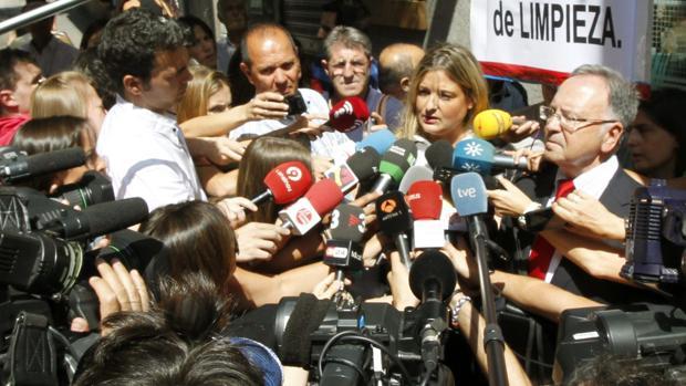 Virginia López Negrete y Miguel Bernad, en una imagen de archivo