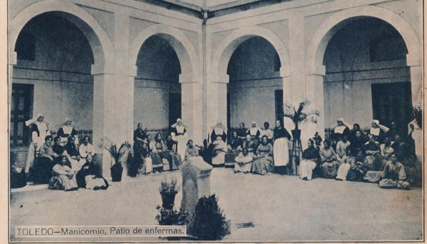 Fachada del Hospital Provincial de Dementes, en cuyas dependencias fue internada durante tres días Clara Mónica Agustina