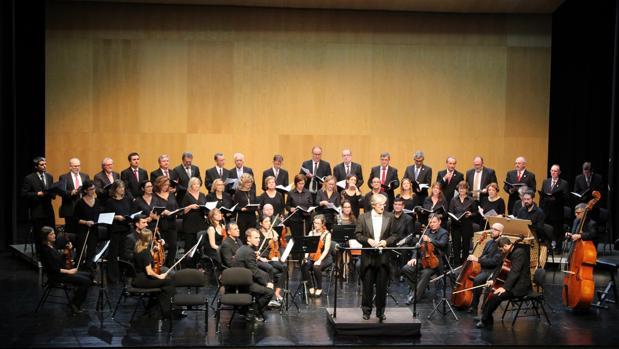 Un momento del concierto de música barroca italiana en Teulada Moraira