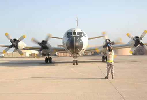 Avión del Ejército del Aire desplegado en la Operación Atalanta