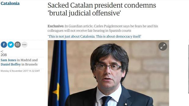 Imagen del artículo de «The Guardian»