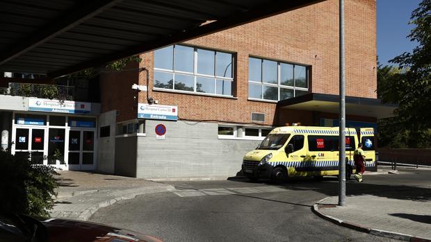 Hospital Carlos III, en Madrid