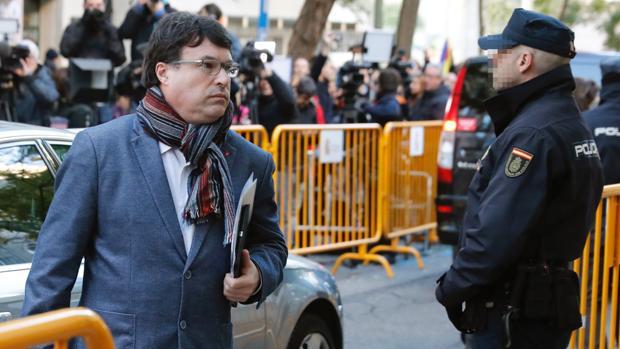Joan Josep Nuet, secretario tercero de la Mesa del Parlament