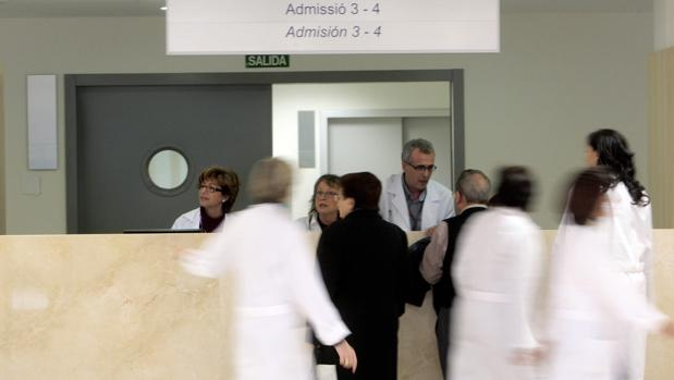 Imagen de archivo tomada en un hospital de Valencia