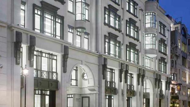 Edificio Almack, adquirido por Pontegadea