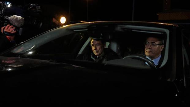 Ignacio González, a su salida de prisión el pasado miércoles