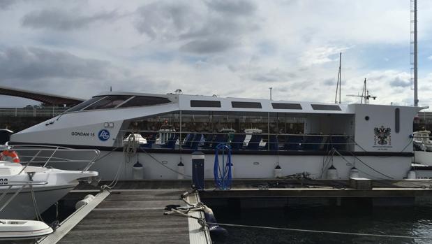 El barco encargadao por el Gobierno de Arturo García-Tizón a un astillero de Ribadeo (Lugo)