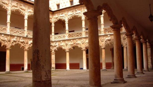 Patio interior del Palacio del Infantado de Guadalajara