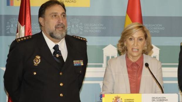 El jefe superior de Policía y la delegada del Gobierno