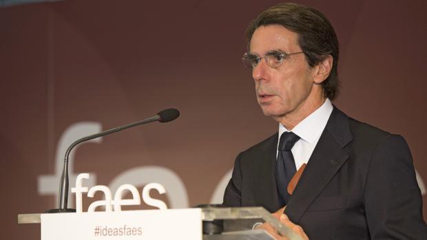 José María Aznar, en una imagen de archivo