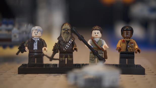 Exposición de Lego sobre la saga Star Wars