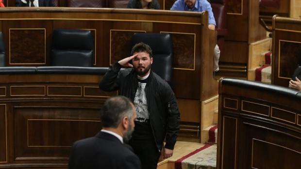 El independentismo se ofusca en Madrid