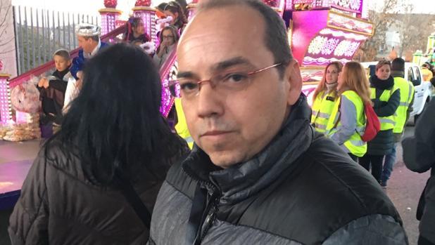 El concejal José Ruiz Martínez, en Arganda del Rey