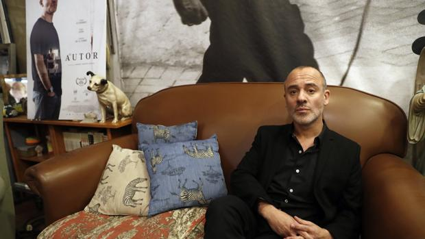 El autor Javier Gutiérrez, protagonista de la película «El Autor·, que se proyectará en el marco del festival