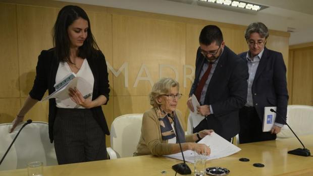 Carmena obligada de nuevo a prorrogar los presupuestos - Casarse ayuntamiento madrid ...