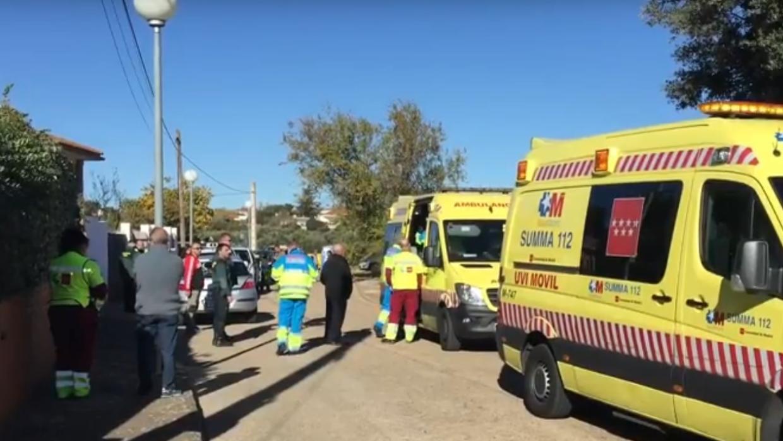 Muere una anciana por una caldera de carbón en Pezuela
