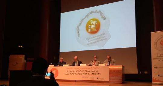 Apertura del tercer congreso de seguridad alimentarioa de Canarias