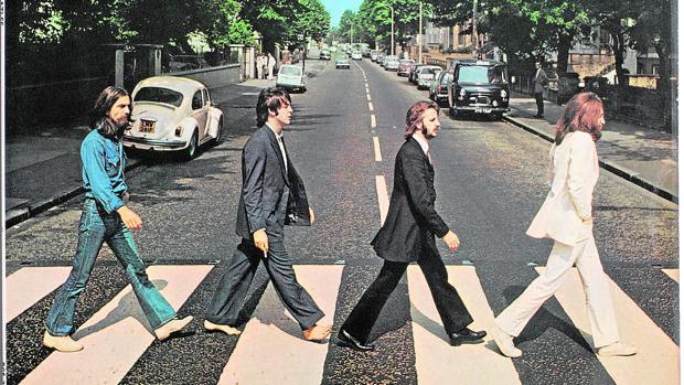 La portada de Abbey Road, de los Beatles