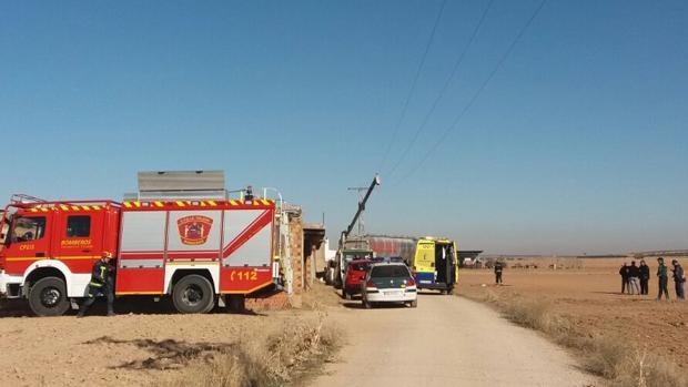 Muere un joven de 25 años electrocutado en Villafranca de los Caballeros