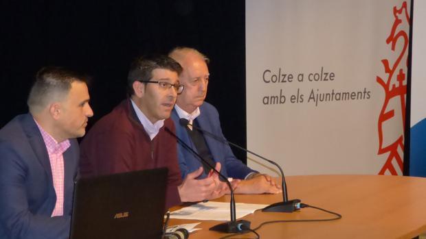 Imagen de Jorge Rodríguez, presidente de la Diputación de Valencia