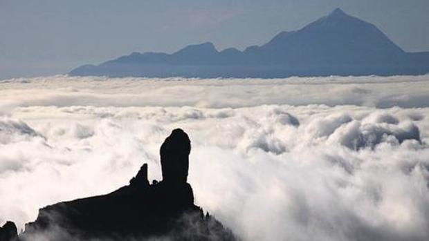 Roque Nublo, Gran Canaria y el Teide, Tenerife
