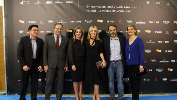 La alcaldesa con Cayertana Guillén Cuervo