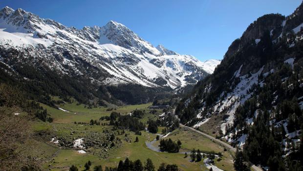 Parajes de Benasque, en el Pirineo aragonés